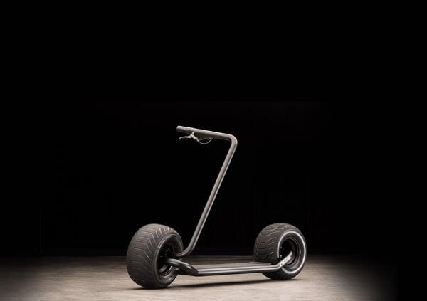 Stator, il monopattino elettrico con maxi pneumatici e design minimal