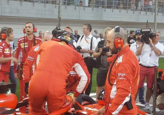 F1: Cigarini, il meccanico della Ferrari infortunato in Bahrain torna al lavoro