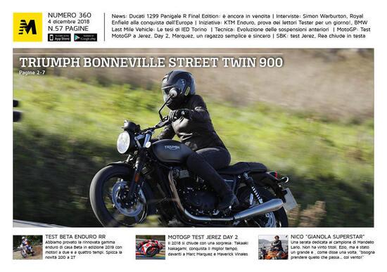 Magazine n° 360, scarica e leggi il meglio di Moto.it