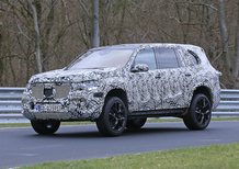 Mercedes GLS, video spia dei primi test