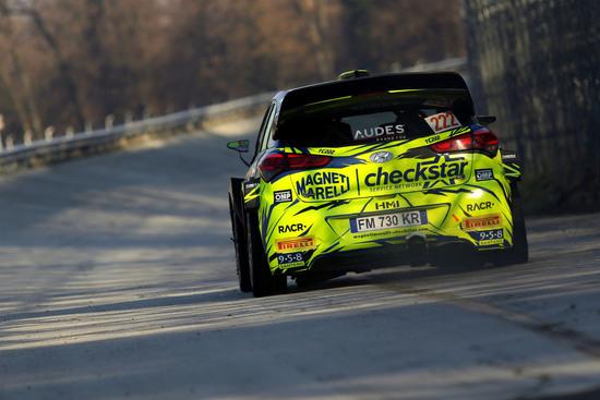 La Hyundai i20 WRC di Tony Cairoli al Monza Rally Show 2018