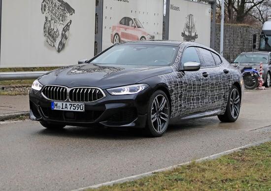BMW Serie 8 Gran Coupè 2019, ecco le foto spia