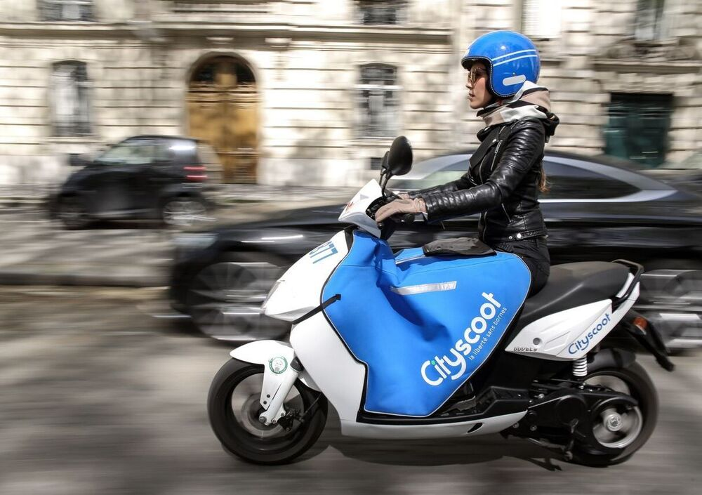 Scooter sharing. A Milano arriva la francese Cityscoot
