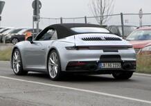 Nuova Porsche 911, la cabrio in fase di collaudo [Foto spia]