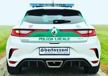 Renault Megane RS, al servizio della Polizia locale