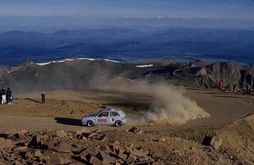 Volkswagen Golf, nel 1987 con due motori per la Pikes Peak (7)