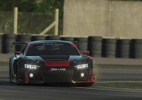 rFactor 2, Audi R8 LMS GT3 in arrivo