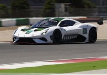 Brabham BT62: sound e azione a Portimao [Video]