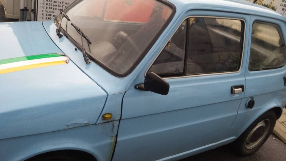 Fiat 126 650 Personal del 1978 usata a Pisa (2)