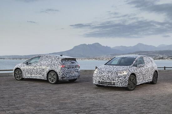 La futura Volkswagen I.D. con grafiche per camuffarla