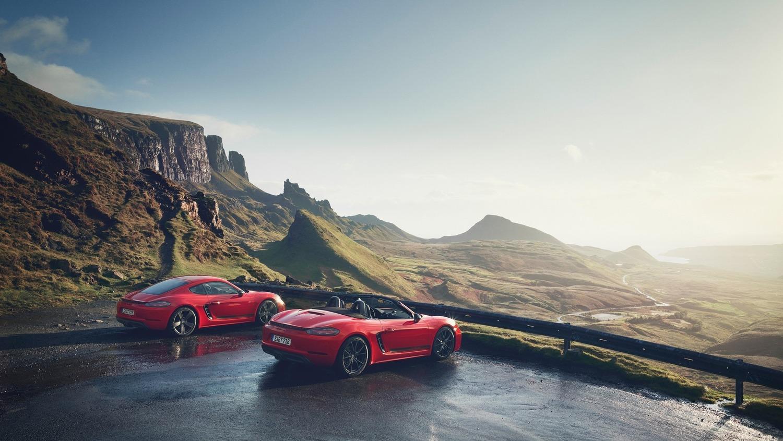 Porsche Cayman e Boxster 718 T: piacere di guida al top