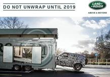 Nuovo Land Rover Defender: verrà svelato nel 2019
