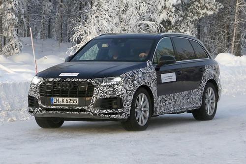 Audi Q7, atteso il restyling [Foto spia] (9)