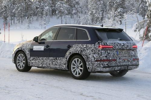 Audi Q7, atteso il restyling [Foto spia] (3)