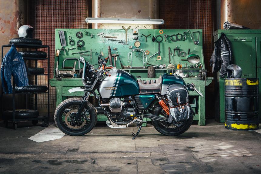 Le Moto Guzzi di Lord Of The Bikes in mostra Motoplex