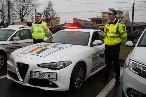Romania, la stradale con una nuova berlina italiana: Alfa Romeo Giulia (2)