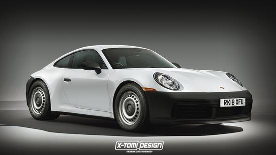 Porsche 911 Base Spec tuned: dite che non vi piace..