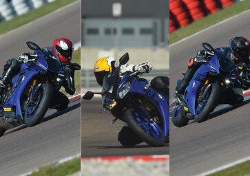 Yamaha YZF-R1 vs. YZF-R6 vs YZF-R3
