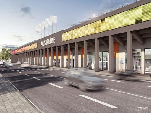 Berlino: le vecchie tribune dell'Avus si trasformano per il centenario del '21 (3)