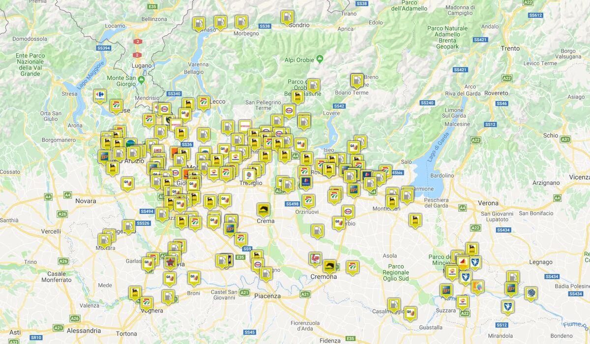 Cartina Distributori Metano Puglia.Distributori Di Carburante Gas Metano Come E Dove Fare Il Pieno In Italia Video News Automoto It