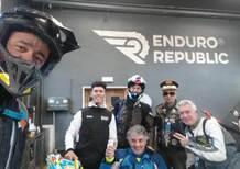 Enduro di fine anno coi campioni del ciclismo Fontana e Guarnieri