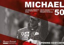 Michael Schumacher, a Maranello la mostra dedicata ai suoi 50 anni [Video]