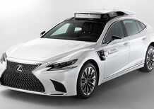 Lexus TRI-P4, la LS 500h che guida lo sviluppo della tecnologia driverless