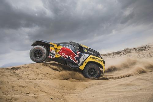 Dakar Perù 2019 Loeb-Peugeot. Pisco: nulla da segnalare