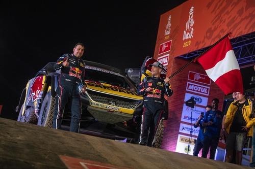 Dakar Perù 2019 Loeb-Peugeot. Pisco: nulla da segnalare (5)