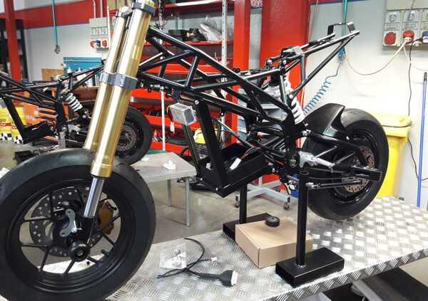 Thundervolt NK-E, la moto elettrica di Loris Reggiani