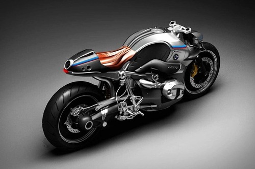 BMW R NineT Aurora Concept Motorcycle (2)