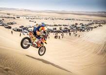 Dakar 2019 100% Perù. Walkner (KTM) e Loeb (Peugeot) UFO a Nazca