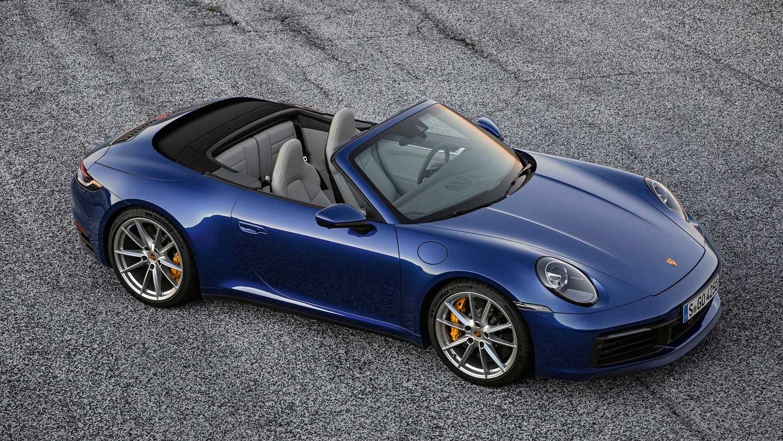 Porsche 911 Cabrio, le prime foto