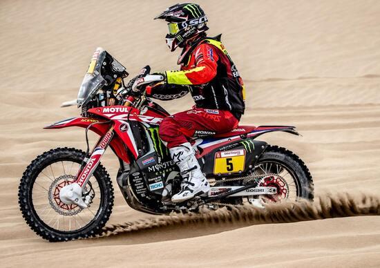 Dakar 2019 Perù: Barreda (Honda) si ritira