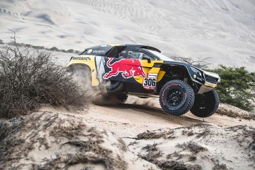 Dakar Perù 2019 Loeb-Peugeot. Non il giorno ideale per affrontare il Rally nel caos (7)