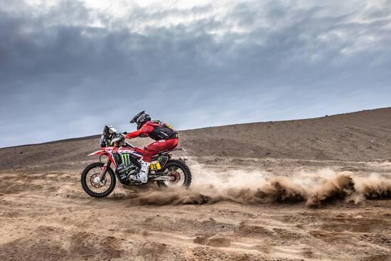 Ricky Brabec è il nuovo leader della classifica generale moto della Dakar 2019