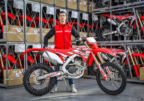 Davide Guarneri: 2019 con Honda RedMoto Lunigiana