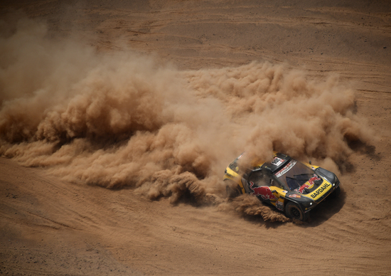 Dakar 2019 Perù. Live Day 5. Loeb (Peugeot) nelle auto, Moto a Sunderland (KTM)