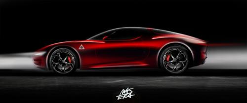 Nuova Alfa Romeo 8C, Ufficiale nel 2023? (2)