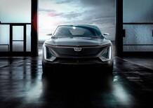 Salone di Detroit 2019: Cadillac, ecco il primo SUV elettrico. Ma è ancora anonimo...