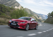 Lexus RC 2019, look rivisto per la seconda parte di carriera