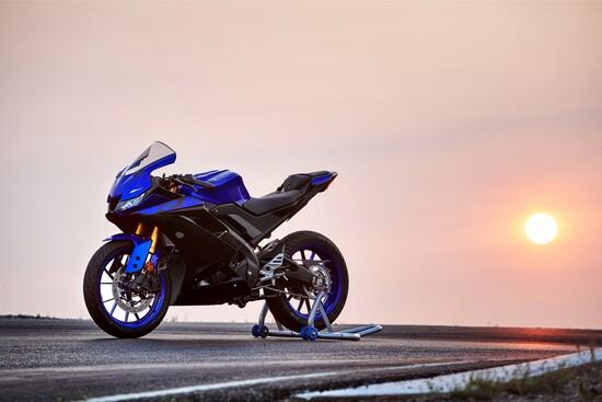 La nuova Yamaha YZF-R125