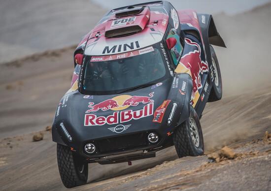 Dakar 2019, Tappa 9: ritiro di Peterhansel