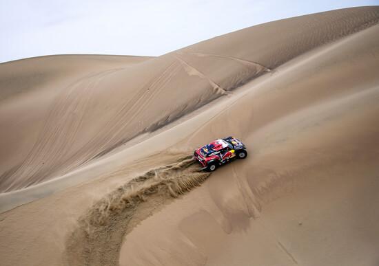 Il ritiro di Peterhansel nella Tappa 9 della Dakar 2019