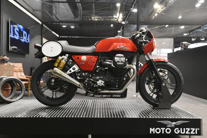 La Moto Guzzi V7-III con il kit Guareschi Moto