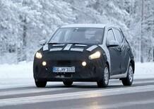Hyundai i10: le foto spia della nuova generazione