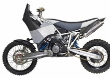KTM 990 Adventure a due ruote motrici. Eccentrica? Decisamente