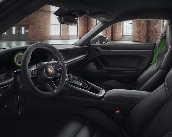 Interni Porsche 911 creati con l'Exclusive Manufaktur