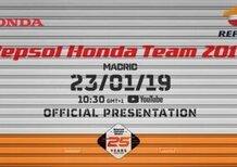 Honda MotoGP: la presentazione in diretta con  Márquez  e Lorenzo (Live)