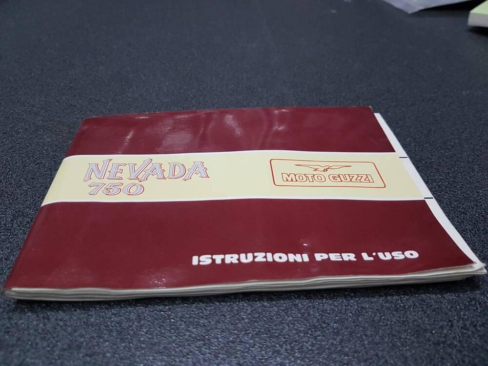 USO E MANUTENZIONE MANUALE MOTO GUZZI NEVADA 750